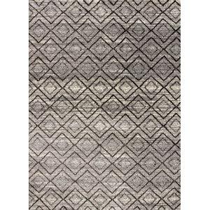 Cormac Gala Grey Area Rug, 60x110 cm