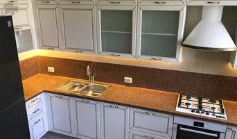 Кухонный гарнитур с патинированием в мжк Счастье
