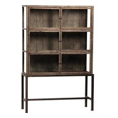 Display Cabinet DOVETAIL BRYANSTON Antiqued