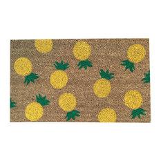 """Hand Painted """"Pineapple"""" Doormat"""