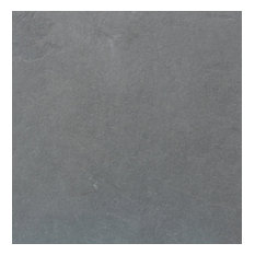"12""x 12"" Brazilian Gray Montauk Blue Cleft Slate Tile, Sample"
