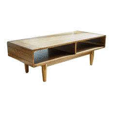 Mod Harbor Midcentury Modern Coffee Table Walnut Tables