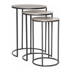 Uttermost 25057 Erik - 23.7-inch Nesting Table (Set Of 3)