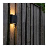 Modern Wall Lamp 11.5cm Anthracite IP65 incl.LED - Batt
