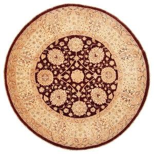 Ziegler Oriental Rug, Round, Pakistan Hand-Knotted, 182x180 cm