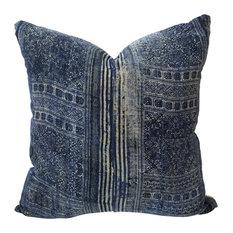 Lao Decorative Pillow, Authentic Thai Hmong Hemp Decoative Pillow