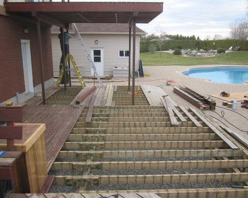 Wood Deck Transformation