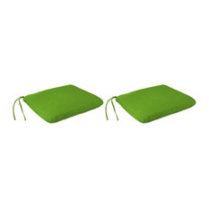 Outdoor  Seat Cushion, 2-Pack, Green color