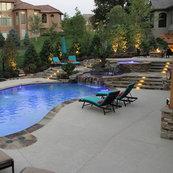 banks pool spa design