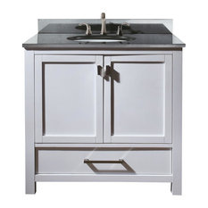 37 in. Vanity Set with Drawer