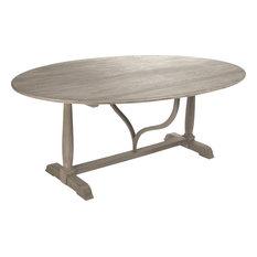 Arek Dining Table - Elm Plywood