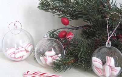 DIY : 8 idées pour remplir des boules de Noël transparentes