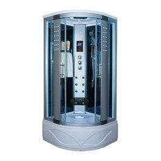 kokss kokss corner steam shower room enclosure 36 x 36 8004as steam