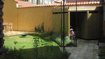 gårdhave, latinerkvarteret Århus