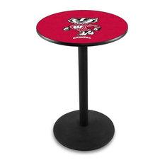 Wisconsin -inchBadger-inch Pub Table 36-inchx42-inch