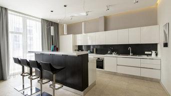 Кухня в Современном стиле Модель Гамма