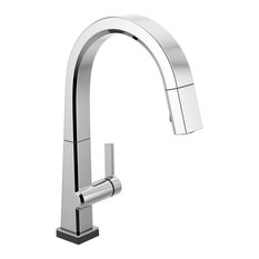 Delta Pivotal 1-Handle Kitchen Faucet With Touch2O Technology, Chrome, 9193T-DST