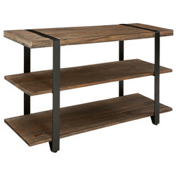 Industrial Console Tables by Bolton Furniture, Inc.