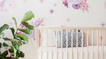 Charming Floral Girl Nursery