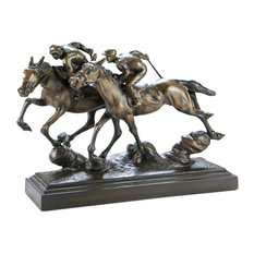 TURNING HOME HORSE SCULPTURE