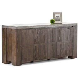 Industrial Buffets And Sideboards by Vig Furniture Inc.