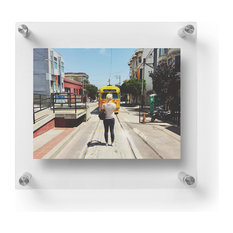 1210DR Double Panel Acrylic Wall Frame for 5x7 photos