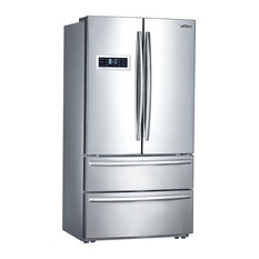 Thor Kitchen 36 Counter 4 Door French Refrigerator Ice Maker