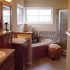 Log Cabin Bath Traditional Bathroom Nashville By Leland Interiors Llc