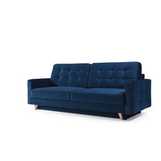 Meble Furniture Rugs Vegas Futon Sofa Bed Queen Sleeper With Storage Navy