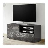 Miro (grey) 1 door 1 drawer TV unit