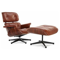 Classic Lounge Chair, Tan, Aniline Leather, Palisander