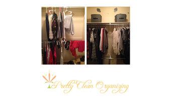 Pretty Clean and Organized Guest Closet