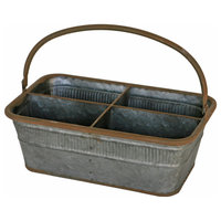 Great Finds Metal Tote, 4 Pack