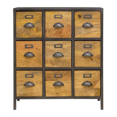 Melike Metal Apothecary Chest