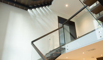 Staircase in a residential Toronto home