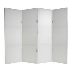 Tall Do It Yourself Canvas Room Divider 4 Panel