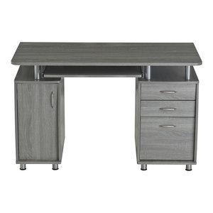 Techni Mobili Computer Desk, Gray