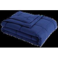 Stayclean Down Alternative Water/Stain Resistant Blanket, Navy, Twin