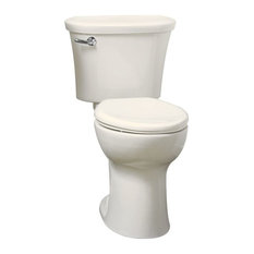 Traditional 2-Piece Toilet, Linen