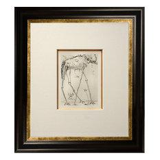 """Salvador Dali, """"Elephant,"""" Framed Etching"""