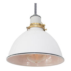 the columbus lamp black u0026 white cord hardwire pendant lighting