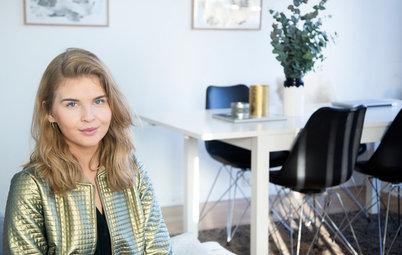 Houzz Tour: Nordisk stil med et kunstnerisk tvist