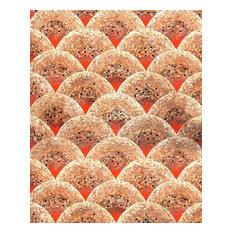 "Mozaico - Wallpaper Mosaic Wind Dispersal of Seeds, 79""x98"" - Tile Murals"