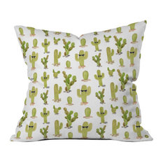 """Wonder Forest Cool Cacti Throw Pillow, 18""""x18"""""""