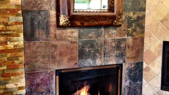 Showroom of Embers Fireplaces & Grills
