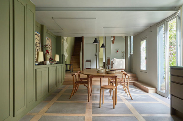 Eclectic  by Eric Gizard interior design