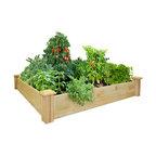 Greenes Original Cedar Raised Garden Bed, 4