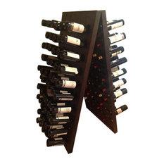 120-Bottle Champagne Riddling Rack, Natural