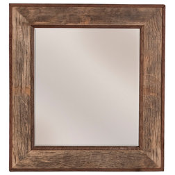 Rustic Bathroom Mirrors by Native Trails