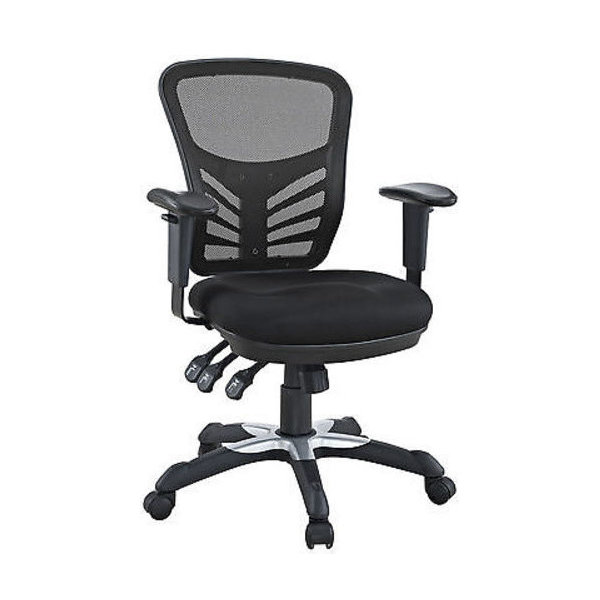 Articulate Mesh Office Chair, Black
